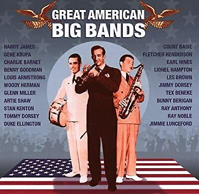 Great American Big Bands Vol.2, Various Artists, Used; Good CD
