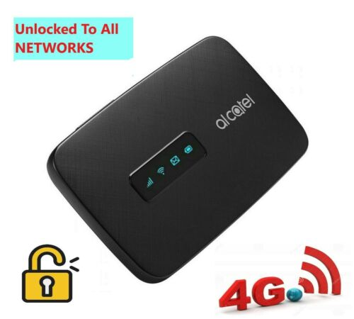 BRAND NEW UNLOCKED ALCATEL 4G POCKET WIFI LINKZONE ALL NETWORKS COMPATIBLE