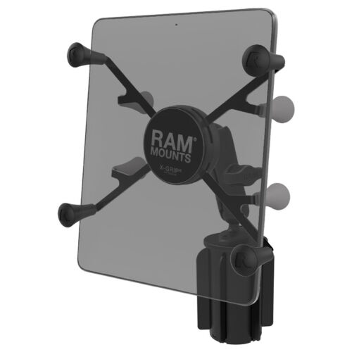 "RAM X-Grip with RAM-A-CAN II Cup Holder Mount for 7""-8"" Tablets"