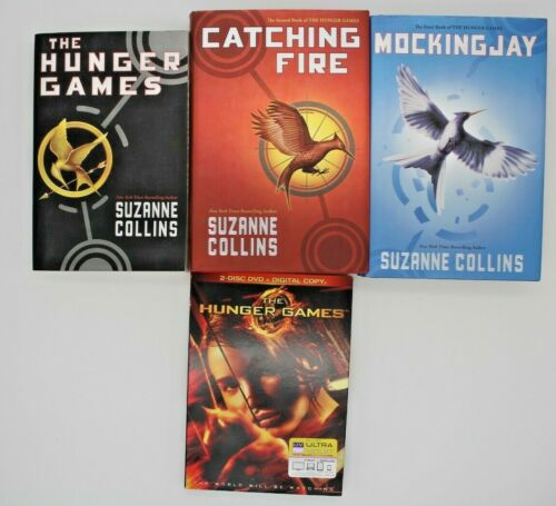 4 items The Hunger Games Ser.: The Hunger Games Trilogy Set : Includes 1st Movie