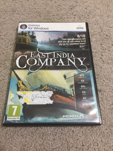 East India Company PC Game 2010 Windows Paradox Interactive Nitro Games