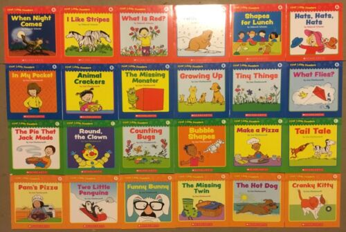 Level A B C D Set First Little Easy Readers Learn to Read Childrens Books Lot 24