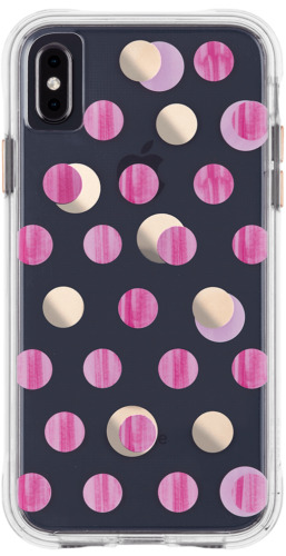 iPhone Xs Max Case-Mate Protective case - Pink Dot