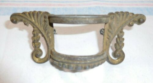 Antique ~ Salvage ~Ornate Spelter Waterfall or Mid-Century Drawer Pull  ~  #2300