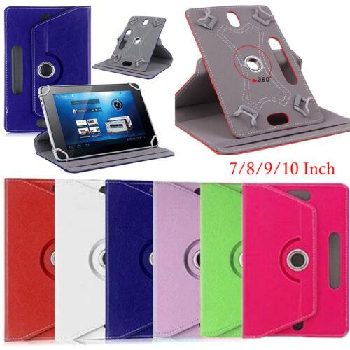 "PU Leather Tablet Case Protector For 7"" 8"" 9"" 10.1"" Android Tablet PC AU Hot"