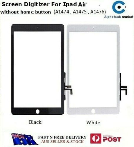 IPAD Air A1474, A1475, A1476 Touch Screen Digitizer Without home button