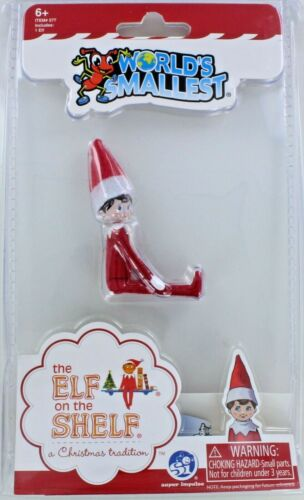World's Smallest ELF on the SHELF Christmas Toy Doll Mini Miniature NEW Holiday