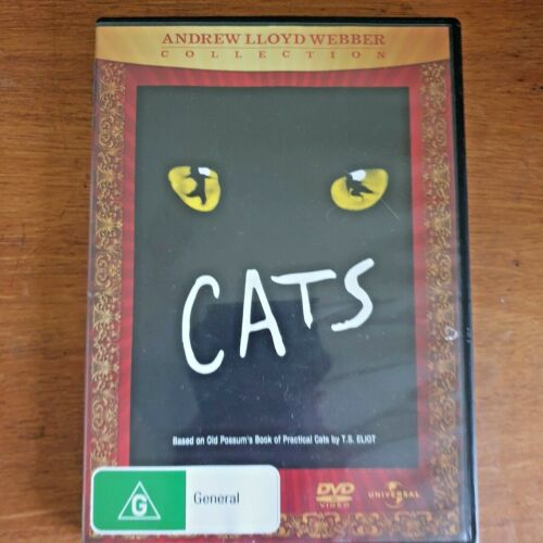 Cats DVD Andrew Lloyd Webber Collection - R4 - FREE POST!