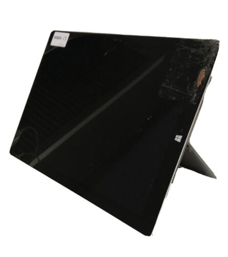 Microsoft Surface Pro 3 64GB For Parts |Cracked Screen, Powers To BIOS