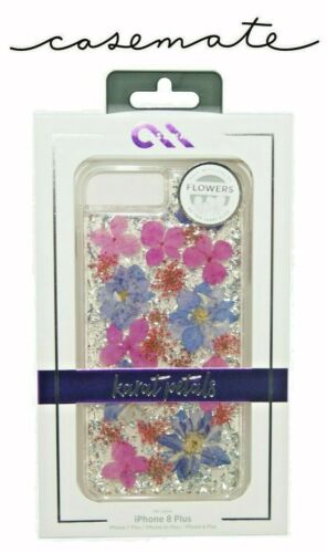 Case Mate iPhone 7/ 8 Plus Purple Karat Real Petals case