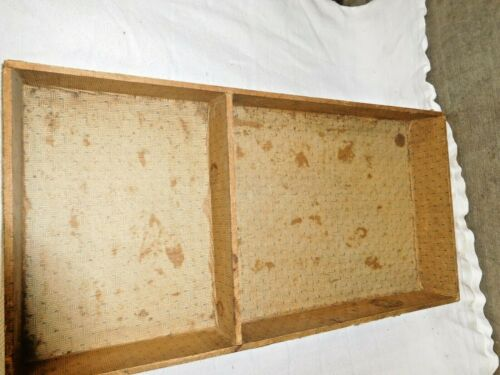 Antique ~ Salvage ~ Wooden Tray for Antique Flat Top Trunk   ~#2337