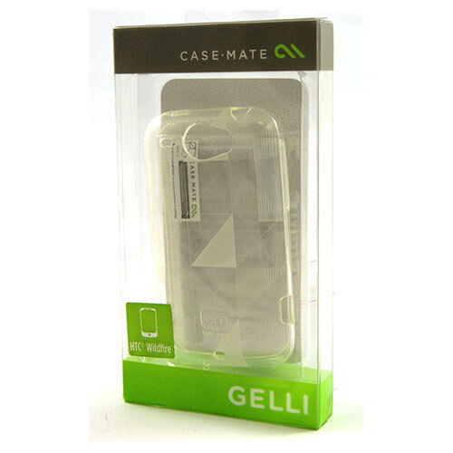 Case-Mate Gelli Case/Cover for HTC Wildfire - Clear