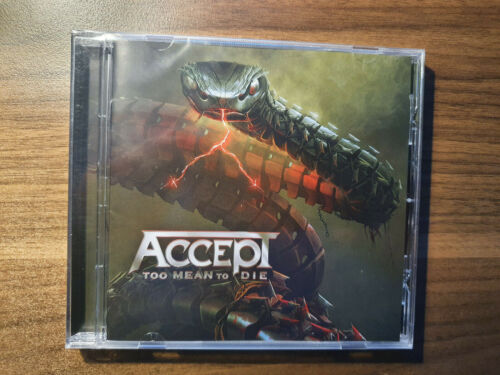 Accept - Too Mean To Die - CD - New Album