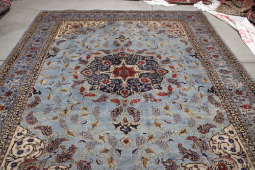 ANTIQUE  RUG 11.2x8 HAND MADE    %100 WOOL  HAND MADE