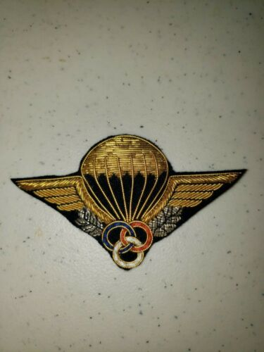 K1046 Indochina France French Army Paratrooper Instructor Wings L3BReproductions - 156472