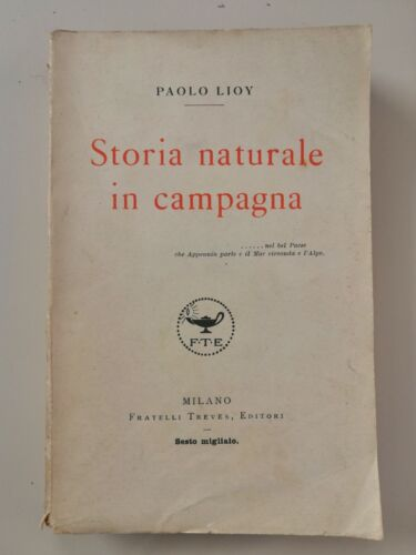 Paolo Lloy STORIA NATURALE IN CAMPAGNA