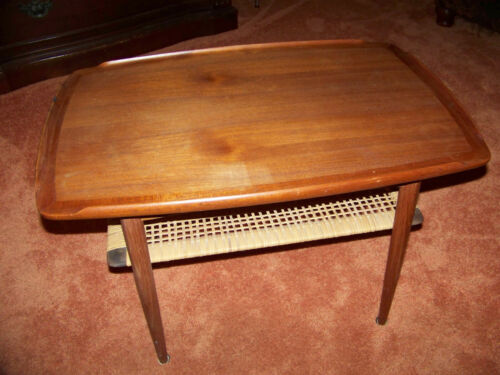Poul Jensen for Selig, Danish Wood Coffee Table Mid-Century Modern