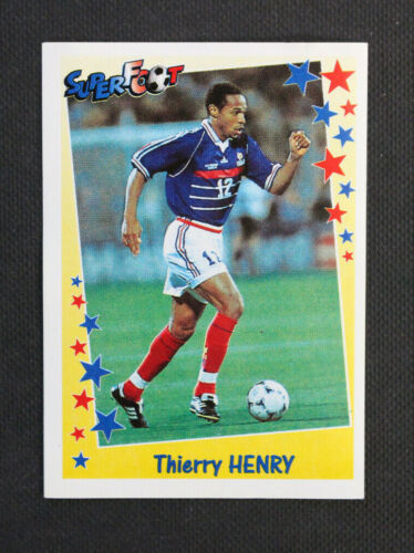 Vignette Panini SuperFoot 1998/1999 France Thierry HENRY #194Stickers, albums, sets - 141755