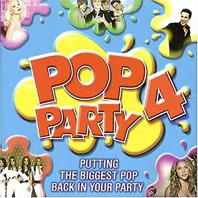Pop Party 4, Various Artists, Used; Good CD