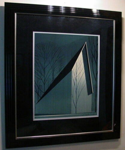 PEARL ~ Eyvind Earle ~ From Winter Barn Suite ~ Hand Signed Limited Print Framed