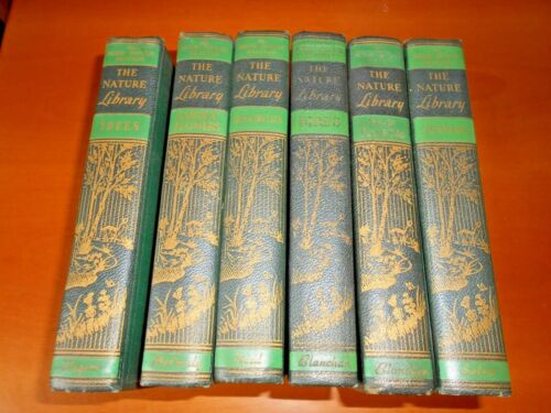 MY BOOK HOUSE EDITION THE NATURE LIBRARY DOUBLEDAY DORAN NEW YORK 1926 6 VOLUMI