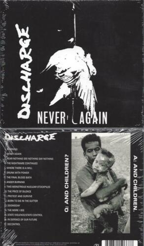 CD--   Discharge – Never Again