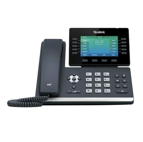 """Yealink T54W 16 Line IP HD Phone, 4.3"""" 480 x 272 colour screen, HD voice"""