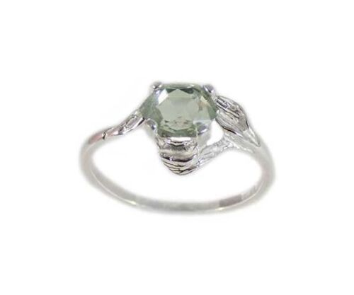 19thC Poland Green Amethyst Ring Ancient Celt Roman Greek Warrior Amulet Jewelry