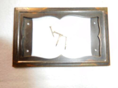 Antique ~ Salvage ~ One Yauman & Erbe Japanned File Cabinet  Card Holder   #2251