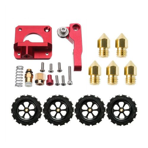 Creality Ender 3 Extruder Upgrade Kit & 5X 0.4mm Nozzles & 4X Leveling Nuts