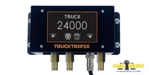 """HAUL WEIGH Truck & Trailer - Digital on-board truck scales <br/> 4.3"""" Colour Touch Screen, Printer Compatible, Bluetooth"""