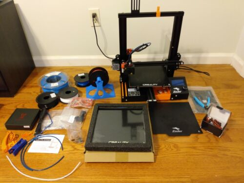 Creality Ender-3 Pro printer with upgrades, thermal runaway protection