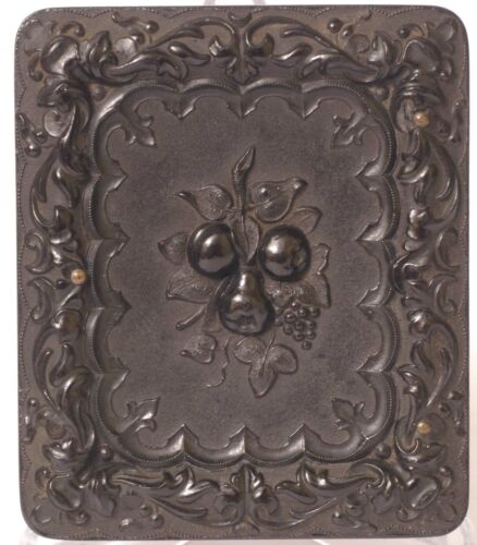 F33105~ Union Case – Pears and Grapes - Berg 2-75R – Pretty Tintype/Highlights