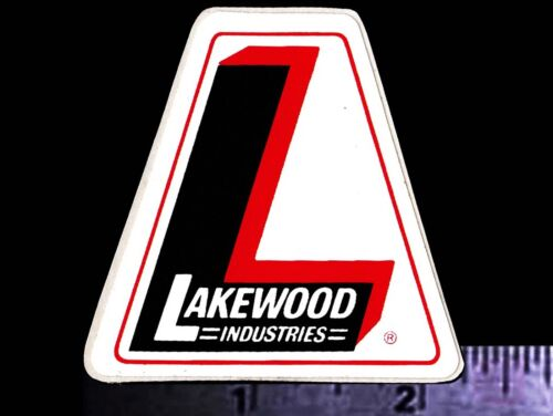 LAKEWOOD Industries - Original Vintage Racing Decal/Sticker - 2 inch size