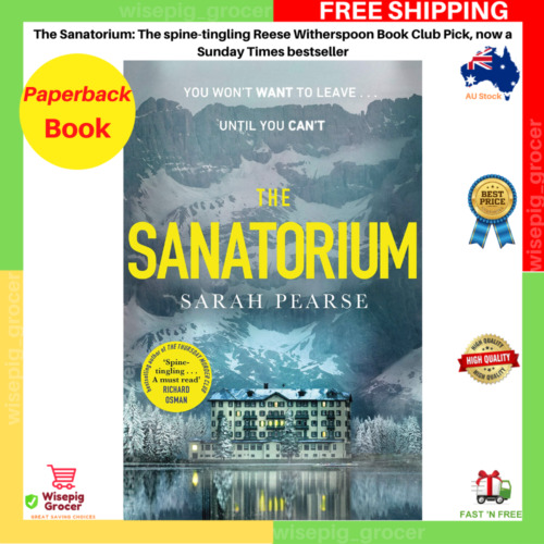The Sanatorium by Sarah Pearse | Paperback Book | BRAND NEW | FREE SHIPPING AU
