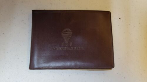 K1815 Indochina France Paratroopers Small Photo Album B6  L3E