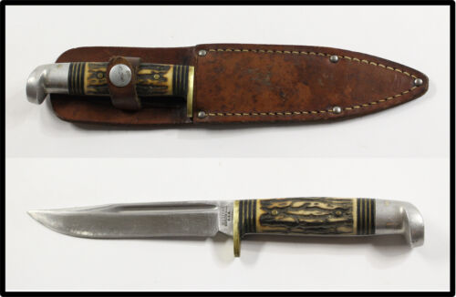 Vintage WESTERN USA MODEL S-H48A knife dating from 1967-1977 NICE LOOK