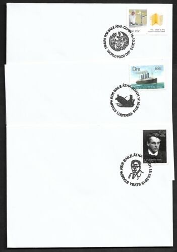 IRELAND:: STAMPA 2015 SPECIAL POSTMARKS.