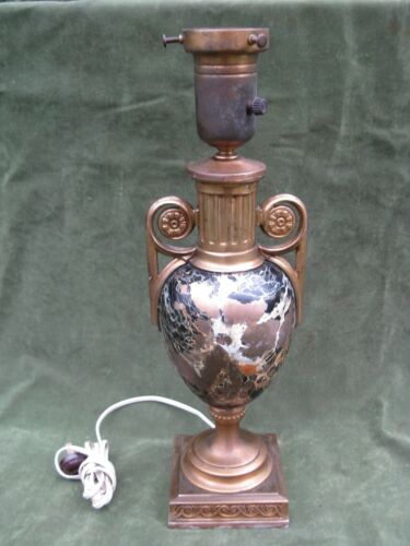 Vintage Mutual Sunset Lamp Co Neo Classical Urn Lamp