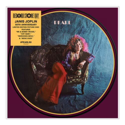JANIS JOPLIN Pearl LP Picture Disc Limited Edition NUOVO .cp