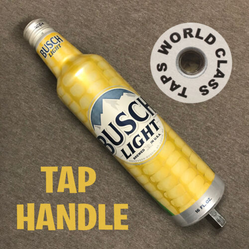 special edition CORN BUSCH LIGHT beer bottle TAP HANDLE marker FARMERS USA
