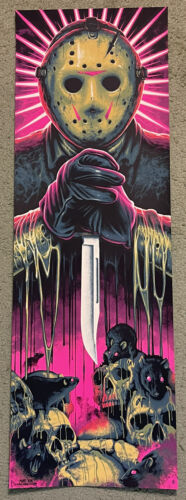 Friday The 13th Jason Voorhees Movie Print Poster Mondo Horror Steven Holliday