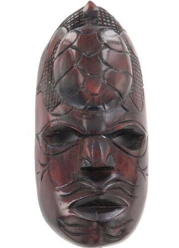 .PRICED TO SELL !!! FIJIAN TURTLE HEAD CARVED WOODEN TRIBAL MASK.