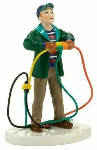 Dept 56 FIRE IT UP DAD! Christmas Vacation Lampoons Griswold House 4030742