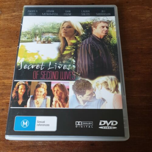 Secret Lives Of Second Wives DVD R4 Like New! FREE POST