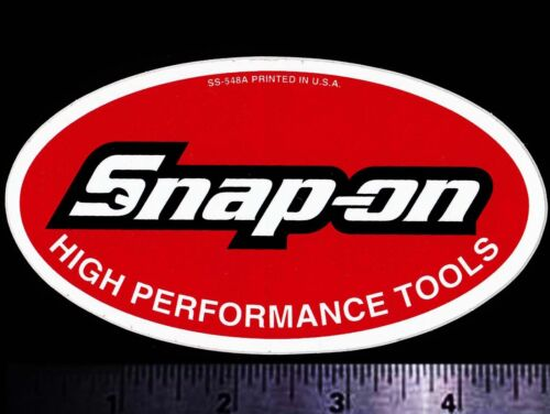SNAP ON High Performance Tools - Original Vintage 1980's Racing Decal/Sticker