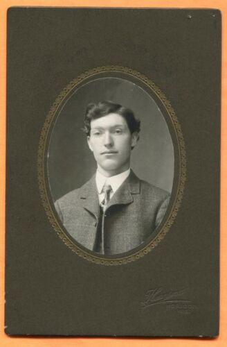 Horicon, WI, Portrait of a Young Man, by Hanson, circa 1900s