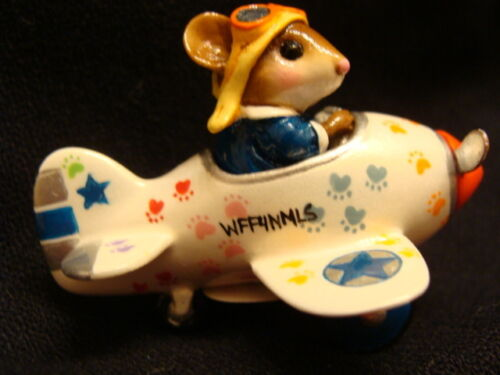 """Sale! Wee Forest Folk Special Color """"Paws"""" Pedal Plane"""