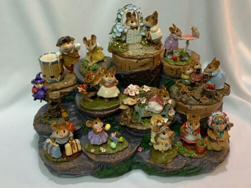 Great Tree Stump Display for Wee Forest Folk WFF not Included
