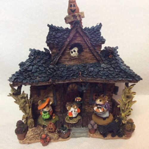 Haunted House Display for Wee Forest Folk WFF not Included